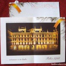Postales: NAVIDAD COLECCIÓN POSTAL DOBLE GRANDE FELICITACIÓN CAJA CANTABRIA CONMEMORACIÓN CENTENARIO. Lote 62297332