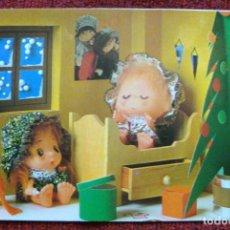 Postales: COLECCIÓN POSTAL LOS CHRISMAS DE LOLA MARK 1978. Lote 62394908