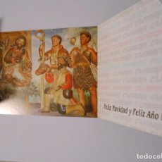 Postales: TARJETA DE FELICITACION NAVIDEÑA BELEN PARROQUIAL DE NAVARRETE. LA RIOJA. CAJARIOJA. TDKP8. Lote 62743124