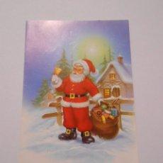 Postales: POSTAL FELICITACION NAVIDEÑA CON DEDICATORIA EN SU INTERIOR. TDKP8. Lote 62743168