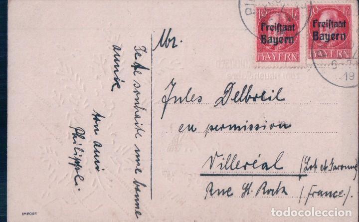 Postales: POSTAL ANTIGUA DE NAVIDAD. CIRCULADA - Foto 2 - 63486788