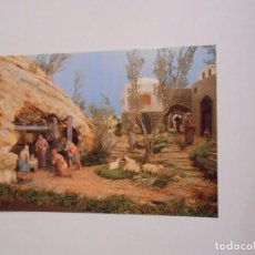 Postales: FOTO NAVIDEÑA FELICITACION. PAROQUIA DE SAN PABLO. LOGROÑO. 1994. PORTAL DE BELEN. TDKP8. Lote 63684767