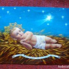 Postales: NAVIDAD POSTAL BAMBINO DI BETLEMME-EL NIÑO JESÚS DE BELÉN-ED CUSTODIA DI TERRA SANTA AÑOS 90. Lote 63719475