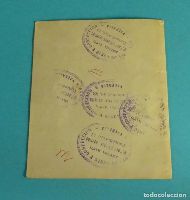 Postales: DÍPTICO FELICITACIÓN NAVIDEÑA AÑO 1956 - Foto 2 - 64704135