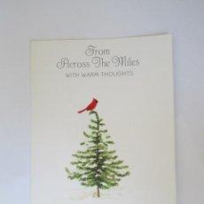 Postales: 1986 ARBOL DE NAVIDAD. CHRISTMAS TREE. SAPIN DE NOËL.. Lote 66792970