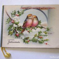 Postales: ANTIGUA FELICITACIÓN DE NAVIDAD. DICIEMBRE DE 1951 CONSERVA EL CORDÓN ORIGINAL.. Lote 67131825