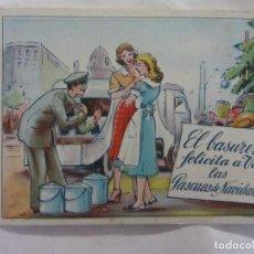 Postales: FELICES PASCUAS. EL BASURERO.. Lote 67751477