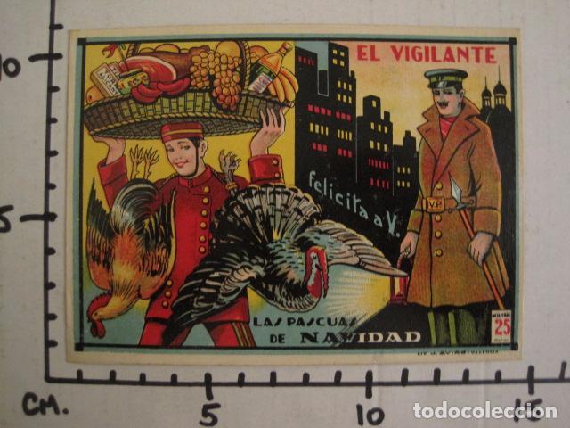 Postales: EL VIGILANTE - FELICITACION ANTIGUA -VER FOTOS Y TAMAÑO -(V-7624) - Foto 3 - 67858173
