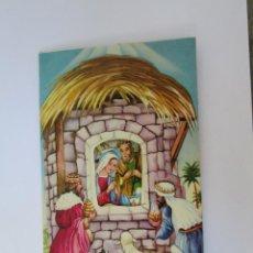 Postales: 3D PESEBRE NAVIDAD. CHRISTMAS CRIB. CRIB DE NOËL. 1971. Lote 67994853