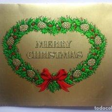 Postales: POSTAL NAVIDAD - MERRY CHRISTMAS, SIN CIRCULAR. Lote 68043729
