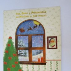 Postales: PAZ AMOR Y PROSPERIDAD, NAVIDAD. PEACE LOVE AND PROSPERITY, CHRISTMAS. AMOUR DE PAIX ET DE PROSPÉRIT. Lote 68084905