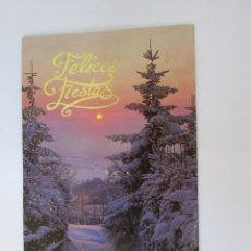 Postales: FELICES FIESTAS. BONNE FÊTES. HAPPY HOLIDAYS.. Lote 68084933