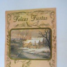 Postales: FELICES FIESTAS. BONNE FÊTES. HAPPY HOLIDAYS.. Lote 68084949