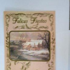 Postales: FELICES FIESTAS. BONNE FÊTES. HAPPY HOLIDAYS.. Lote 68084989