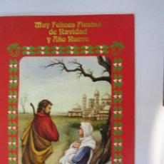 Postales: MUY FELICES FIESTAS. VERY HAPPY HOLIDAYS. VACANCES TRÈS HEUREUX. 1998. Lote 68185821