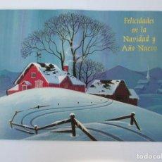 Postales: FELICIDADES NAVIDAD. FÉLICITATIONS DE NOËL. CONGRATULATIONS CHRISTMAS.. Lote 68185829
