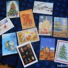 Postales: LOTE DE 12 POSTALES NAVIDAD -SIN CIRCULAR-. Lote 68833497