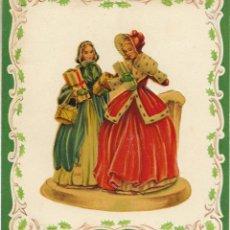 Postales: FELICITACION NAVIDAD TROQUELADA - PRINTED IN WESTERN GERMANY - SIN ESCRIBIR. Lote 68906589