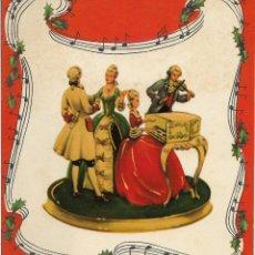 Postales: FELICITACION NAVIDAD TROQUELADA - PRINTED IN WESTERN GERMANY. Lote 69019121