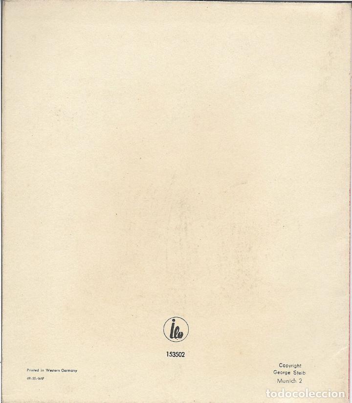 Postales: FELICITACION NAVIDAD TROQUELADA - PRINTED IN WESTERN GERMANY - Foto 3 - 69019121