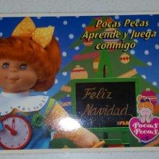 Postales: POSTAL FELIZ NAVIDAD DE POCAS PECAS. FEBER. SIN CIRCULAR . Lote 69283151