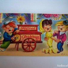 Postales: TARJETA DOBLE NAVIDAD - 1965 - 12X6,5. Lote 69585989