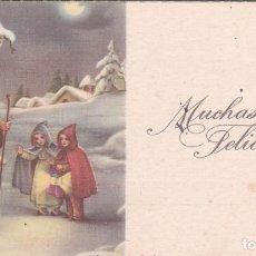 Postales: POSTAL SENCILLA NAVIDAD - L T. ANCLA - ESCRITA 1945. Lote 71139313