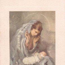 Postales: POSTAL DOBLE NAVIDAD - PRINTED IN ITALY - ED. D'ARTE DORDONI. MILAN - ALCIATI - ESCRITA 1958. Lote 72709279