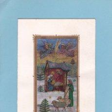 Postales: POSTAL DOBLE NAVIDAD - PRINTED IN GERMANY - ESCRITA. Lote 72821935