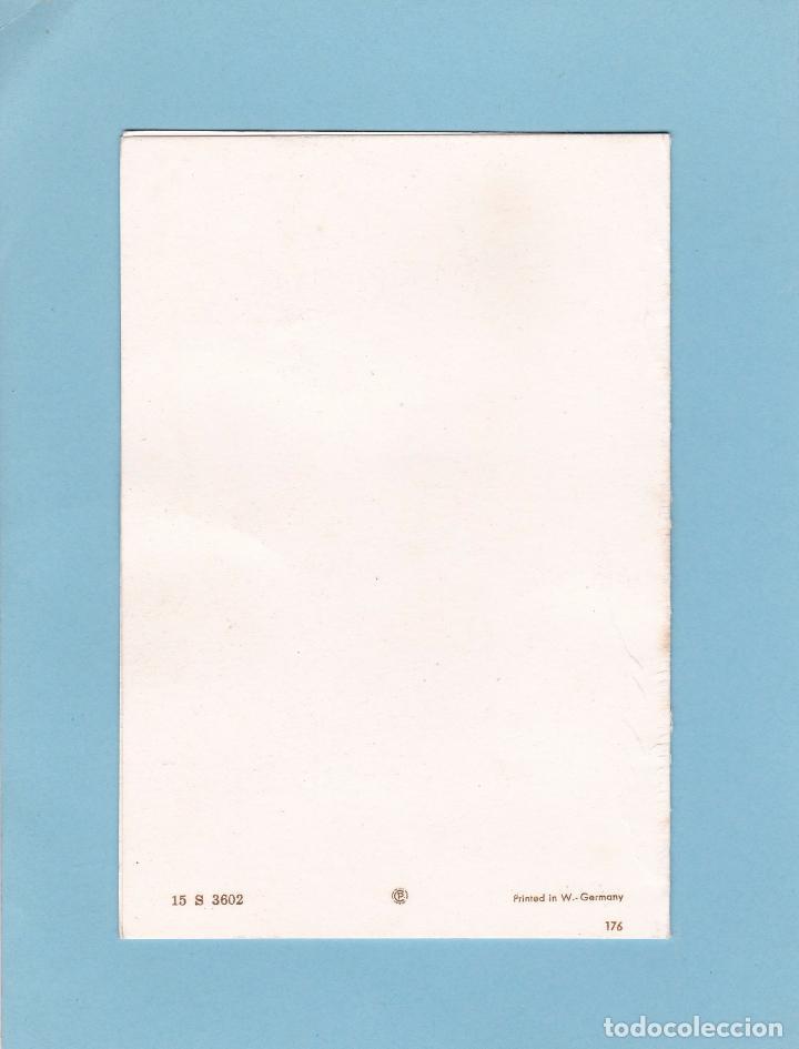 Postales: POSTAL DOBLE NAVIDAD - PRINTED IN GERMANY - ESCRITA - Foto 2 - 72821935