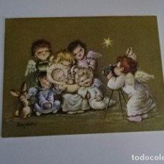 Postales: JUAN FERRANDIZ - ANTIGUA FELICITACIÓN DE NAVIDAD - FOTOGRAFIA - FECHADA OLOT 1958. Lote 73753855