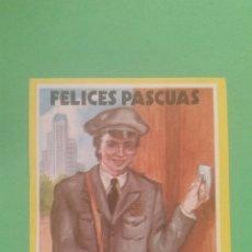 Postales: FELICES PASCUAS,(EL CARTERO).. Lote 74324234