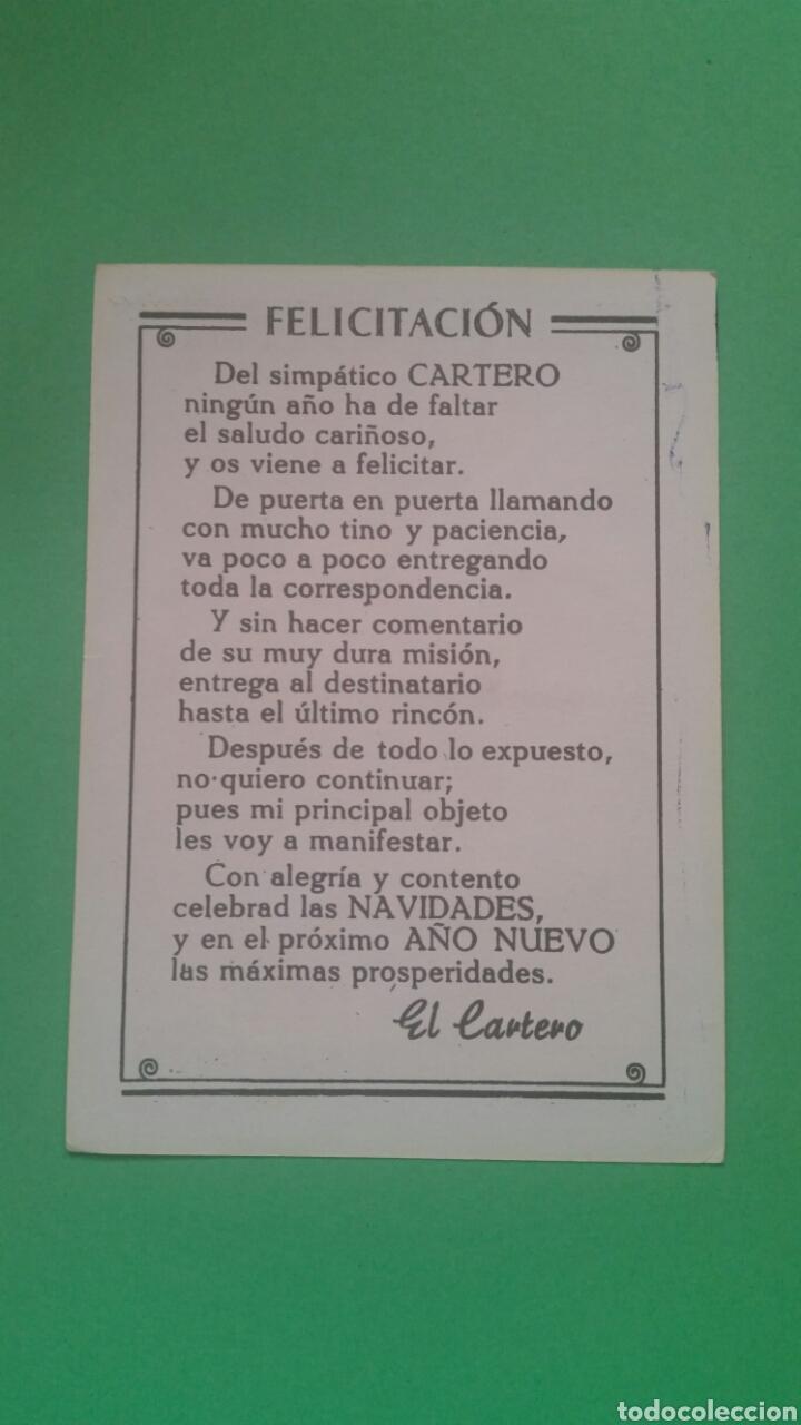 Postales: FELICES PASCUAS,(EL CARTERO). - Foto 2 - 74324234