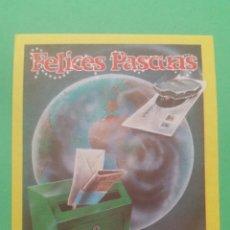 Postales: ANTIGUA FELICITACIÓN, FELICES PASCUAS.(EL CARTERO).. Lote 74325347