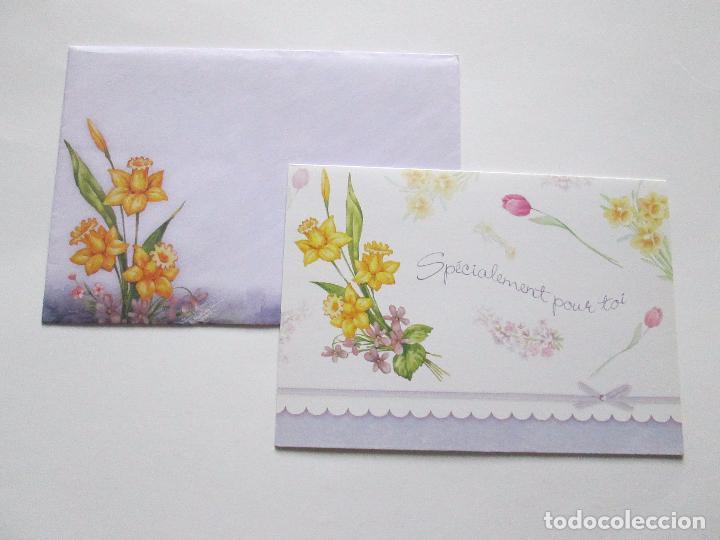 Postales: lote 9 tarjetas navideñas-nuevas-preciosas-escasas-sobres-ver fotos. - Foto 2 - 75110271