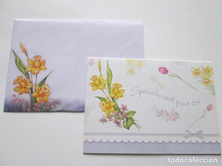 Postales: lote 9 tarjetas navideñas-nuevas-preciosas-escasas-sobres-ver fotos. - Foto 3 - 75110271