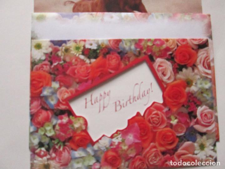 Postales: lote 9 tarjetas navideñas-nuevas-preciosas-escasas-sobres-ver fotos. - Foto 11 - 75110271