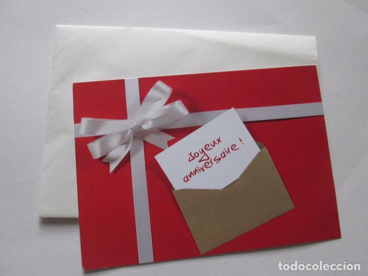 Postales: lote 9 tarjetas navideñas-nuevas-preciosas-escasas-sobres-ver fotos. - Foto 12 - 75110271
