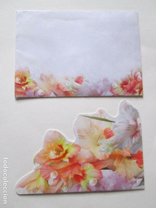 Postales: lote 9 tarjetas navideñas-nuevas-preciosas-escasas-sobres-ver fotos. - Foto 10 - 75110271
