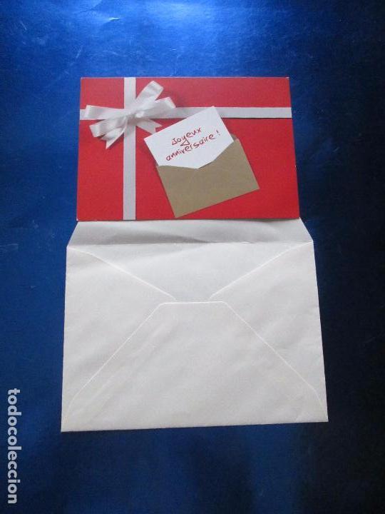 Postales: lote 9 tarjetas navideñas-nuevas-preciosas-escasas-sobres-ver fotos. - Foto 13 - 75110271