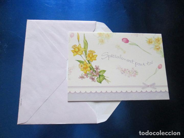 Postales: lote 9 tarjetas navideñas-nuevas-preciosas-escasas-sobres-ver fotos. - Foto 15 - 75110271