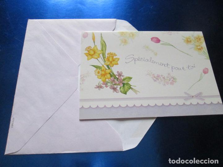 Postales: lote 9 tarjetas navideñas-nuevas-preciosas-escasas-sobres-ver fotos. - Foto 16 - 75110271