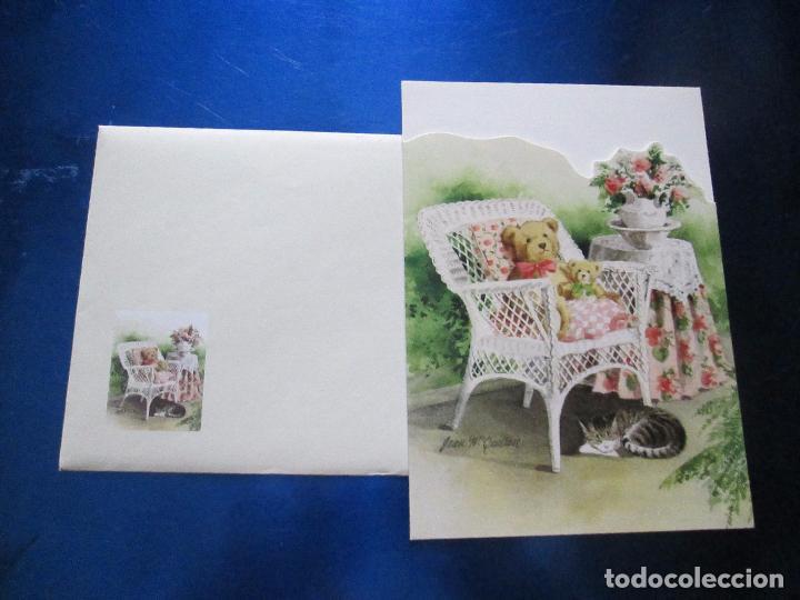 Postales: lote 9 tarjetas navideñas-nuevas-preciosas-escasas-sobres-ver fotos. - Foto 19 - 75110271