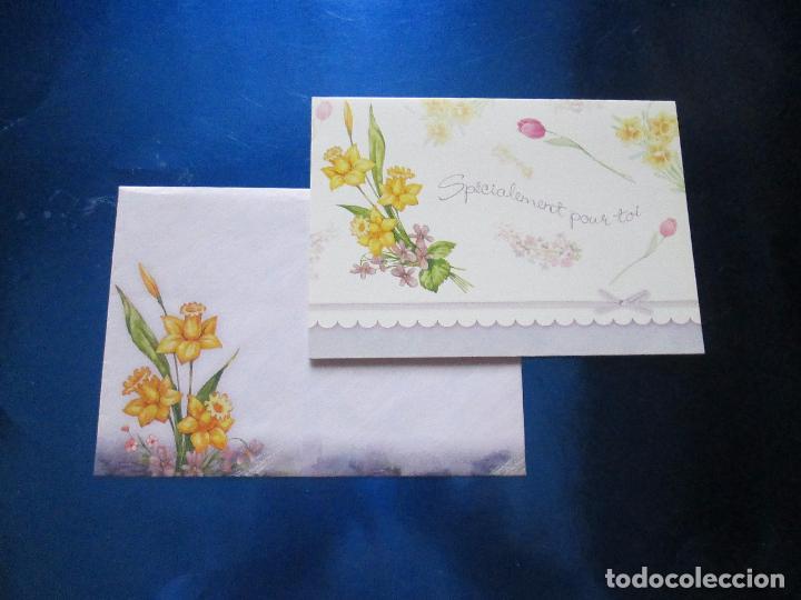 Postales: lote 9 tarjetas navideñas-nuevas-preciosas-escasas-sobres-ver fotos. - Foto 20 - 75110271