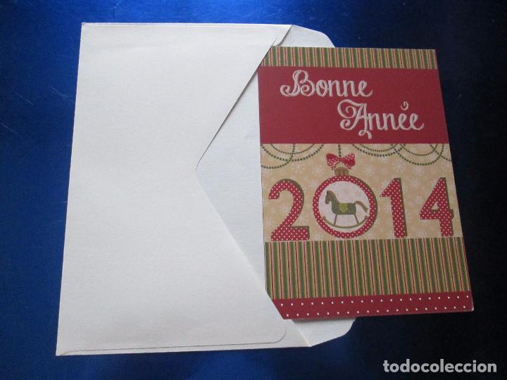 Postales: lote 9 tarjetas navideñas-nuevas-preciosas-escasas-sobres-ver fotos. - Foto 22 - 75110271