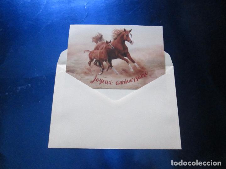 Postales: lote 9 tarjetas navideñas-nuevas-preciosas-escasas-sobres-ver fotos. - Foto 23 - 75110271