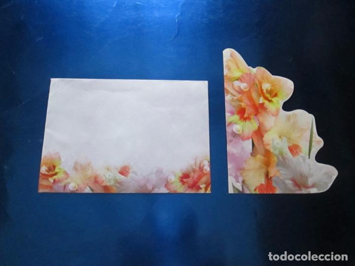 Postales: lote 9 tarjetas navideñas-nuevas-preciosas-escasas-sobres-ver fotos. - Foto 24 - 75110271