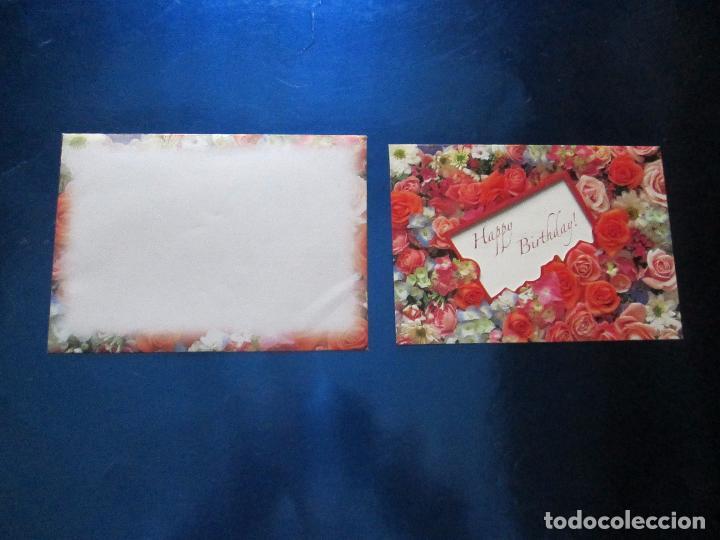 Postales: lote 9 tarjetas navideñas-nuevas-preciosas-escasas-sobres-ver fotos. - Foto 27 - 75110271
