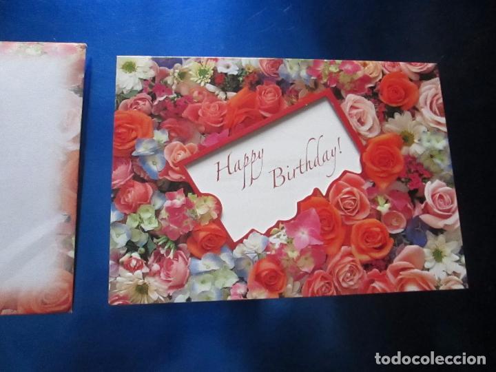 Postales: lote 9 tarjetas navideñas-nuevas-preciosas-escasas-sobres-ver fotos. - Foto 28 - 75110271