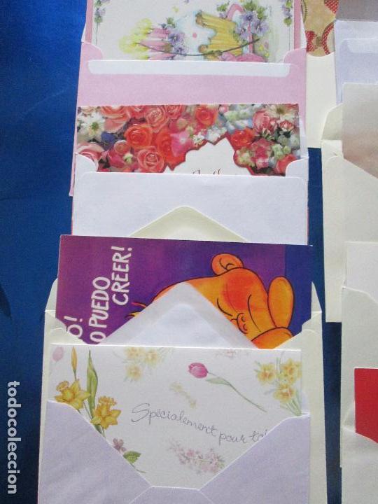 Postales: lote 9 tarjetas navideñas-nuevas-preciosas-escasas-sobres-ver fotos. - Foto 31 - 75110271